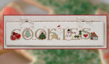 Cross-Eyed Cricket - Sugar Cookies - Cross Stitch Pattern