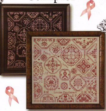 Cherished Stitches - Charlotte's Sampler - Cross Stitch Chart