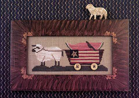 Homespun Elegance - Country Spirits Collection - Delivering Summer - Cross Stitch Pattern