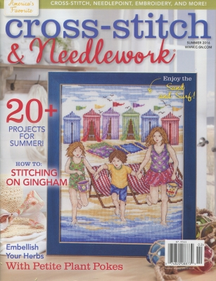 Cross-Stitch & Needlework Magazine - 2016 #2 - Summer Issue