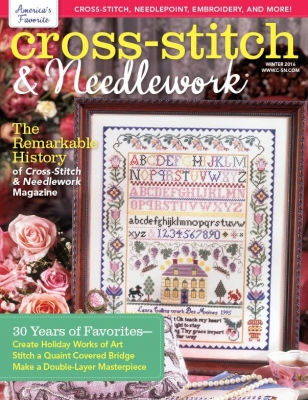 Cross-Stitch & Needlework Magazine - 2016 #4 - Winter Issue