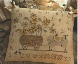 Country Stitches - Boo & Baa-bbie - Cross Stitch Pattern