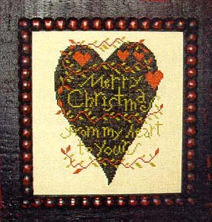 Carriage House Samplings - From My Heart to Yours - Cross Stitch Pattern