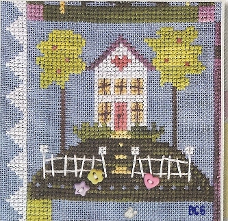 SamSarah Design Studio - Daily Life - Pearl 05 of 12 - Come Home Early! - Cross Stitch Pattern