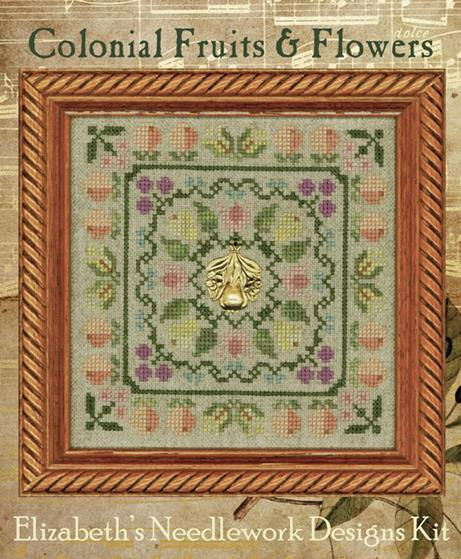 Elizabeth's Designs - Colonial Fruits & Flowers Kit