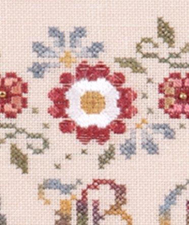 Jeannette Douglas Designs - English Rose Sampler - Cross Stitch Pattern