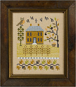 Lizzie Kate - 4 Seasons Flip-It - Autumn & Winter - Cross Stitch Pattern