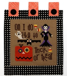 Heart in Hand Needleart - Fancy - Trick or Treat