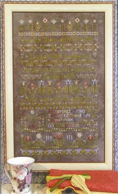 Rosewood Manor - Flowers Awake! - Cross Stitch Chart