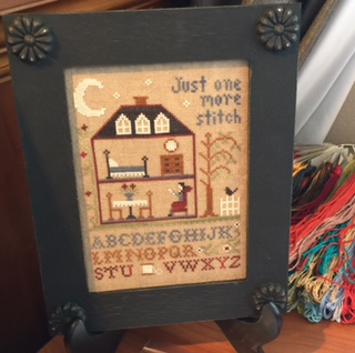 Little House Needleworks - One More Stitch - 2016 Nashville Exclusive-Little House Needleworks - One More Stitch - 2016 Nashville Exclusive, stitching, time, cross stitch