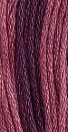 Gentle Art Sampler Threads - Red Plum - Hand Over-dyed Floss