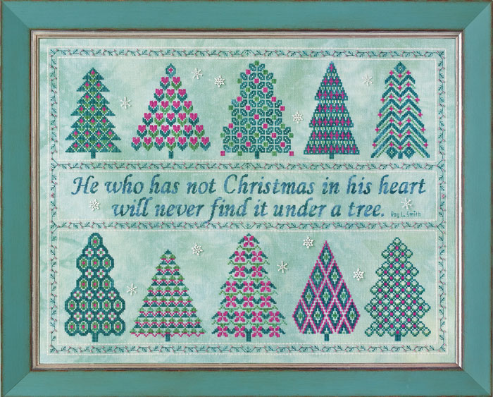 Glendon Place - The Spirit of Christmas - Cross Stitch Pattern