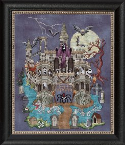 Glendon Place - Castle Le Creep - Cross Stitch Pattern