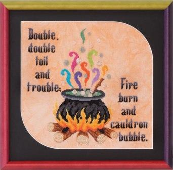 Glendon Place - Toil and Trouble - Cross Stitch Pattern