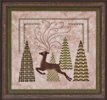 Glendon Place - Woodland Wonder - Cross Stitch Pattern