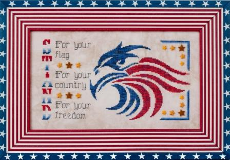 Glendon Place - Stand for Freedom - Limited Edition Kit-Glendon Place - Stand for Freedom - Limited Edition Kit, USA, American eagle, patriotic,