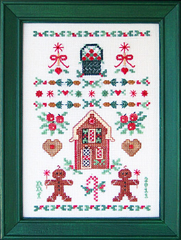 Keepsake Stitches - Gingerbread & Delicious Delights Sampler - Cross Stitch Pattern