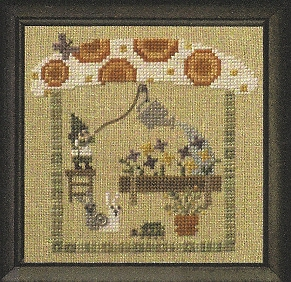 Bent Creek - The Green House - Livin la Vida Mushroom- Snapper - Cross Stitch Chart