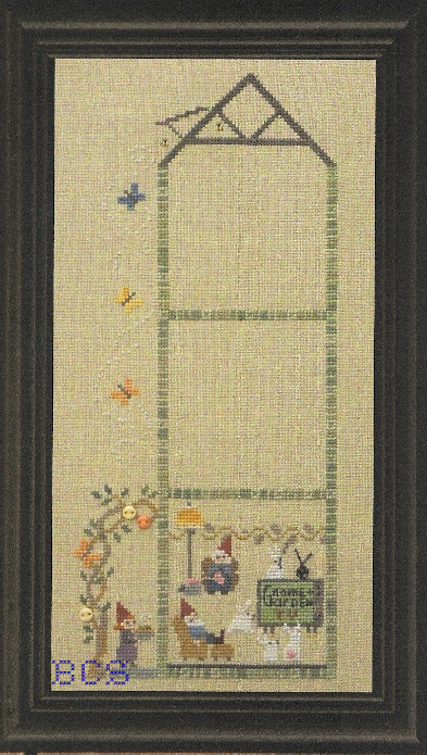 Bent Creek - The Green House - Gnome Place Like Home - Snapper - Cross Stitch Chart