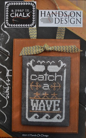 Hands On Design - A Year in Chalk - Part 6 - June - Cross Stitch Pattern
