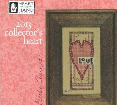 Heart in Hand Needleart - 2013 Collector's Heart - Cross Stitch Kit