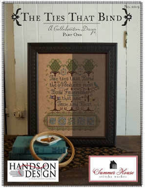 Hands On Design - The Ties That Bind - Part 1 - Cross Stitch Pattern