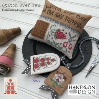Hands On Design - Stitch Over 2-Hands On Design - Stitch Over 2, stitching, home, pumpkins, scissor fob, cross stitch