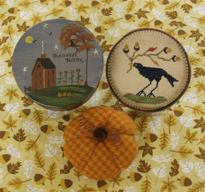 Historic Stitches - Harvest Home Pynboxe