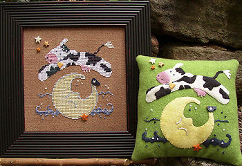 SamSarah Design Studio - Hip Hop Moo - Cross Stitch Pattern