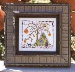 Brightneedle Charted Designs - House on Booberry Lane - Cross Stitch Pattern