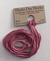 Weeks Dye Works - Busy Lizzie #2272 (Nashville 2015 Release)