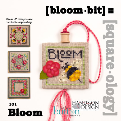Just Another Button Company & Hands On Design - Square-ology - Bloom-bit