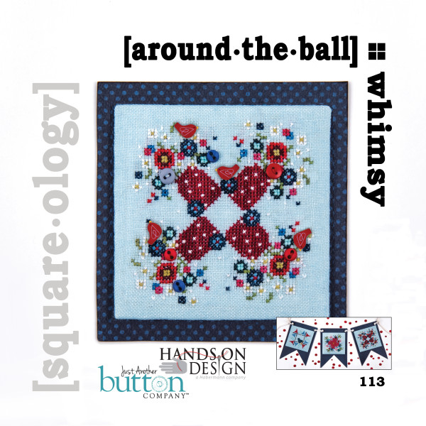 Hands On Design & Just Another Button Company - Square.ology - Whimsy - around the ball