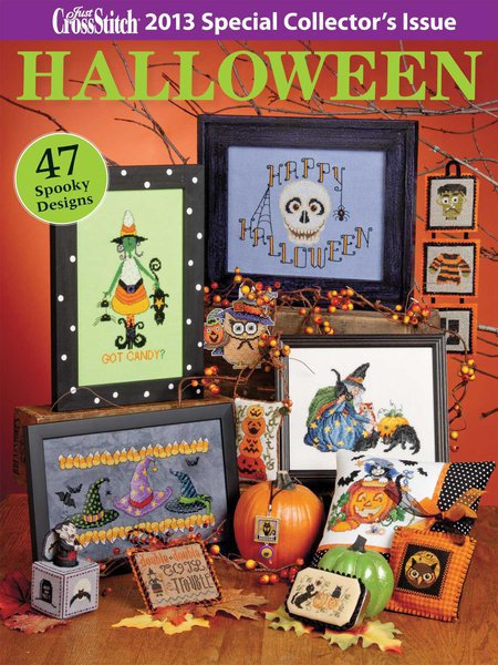 Just Cross Stitch - Halloween Special Collectors Issue 2013