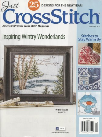 Just Cross Stitch - 2016 #1 Issue January/February - Cross Stitch Magazine