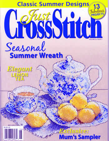 Just Cross Stitch - 2012 #3 Issue May/June - Cross Stitch Magazine