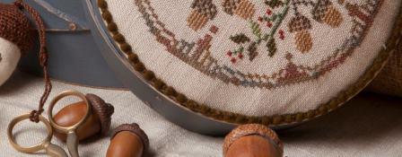 Jeannette Douglas Designs - Harvest Market Hop #2 Acorn