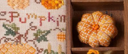 Jeannette Douglas Designs - Harvest Market Hop #1 Pumpkin
