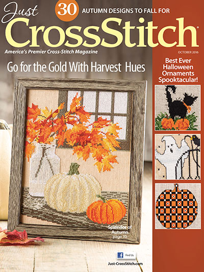 Just Cross Stitch - 2016 #5 September/October - Cross Stitch Magazine