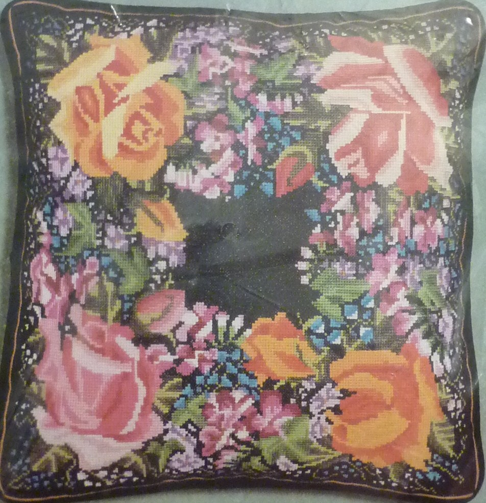 janlynn cross stitch pillow