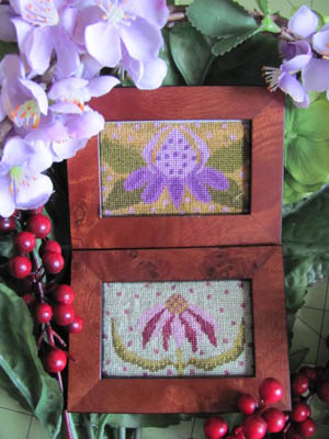 By The Bay Needleart - Funky Flower Sisters - Judith + Veronica