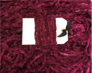 Lady Dot Creates - Chenille Trim - Chianti