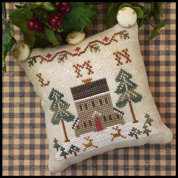Little House Needleworks - ABC Samplers - LMN-Little House Needleworks - ABC Samplers - LMN, pin cushion, samplers, alphabet, pillow, cross stitch