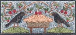 Little House Needleworks - Cherry Pie - Punchneedle