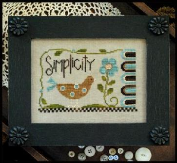 Little House Needleworks - Simplicity - Cross Stitch Pattern