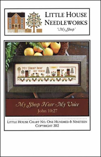 Little House Needleworks - My Sheep - Cross Stitch Pattern