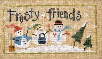Lizzie Kate - 6 Snow Belles Flip-it - Frosty Friends