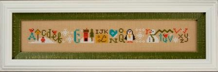 Lizzie Kate - Snowy String - Cross Stitch Pattern