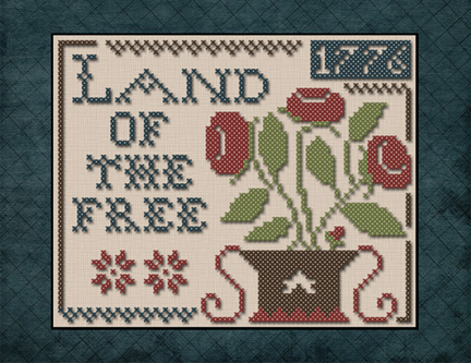Little House Needleworks - Land of the Free