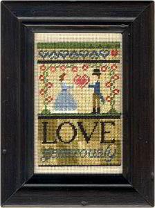 Erica Michaels Needleart Designs - Love Generously - Cross Stitch Pattern